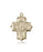 Image of Millennium Crucifix Medal (14kt Gold)
