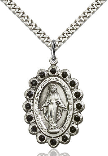 Image of Miraculous Pendant (Sterling Silver)