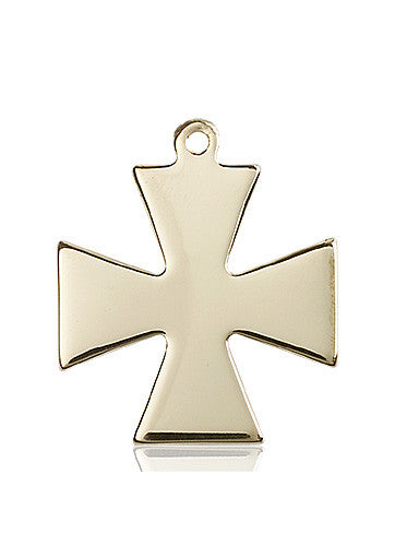 surfer_cross_medal_14kt_gold