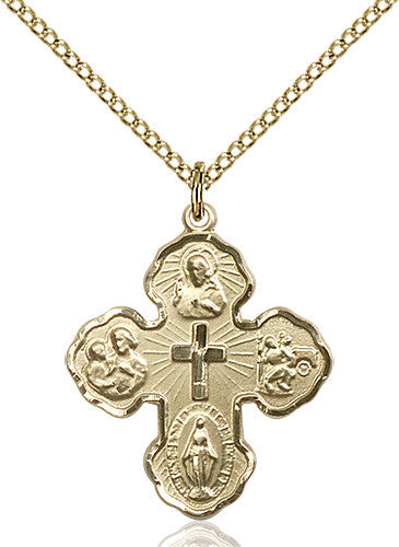 Image of 5-Way Pendant (Gold Filled)