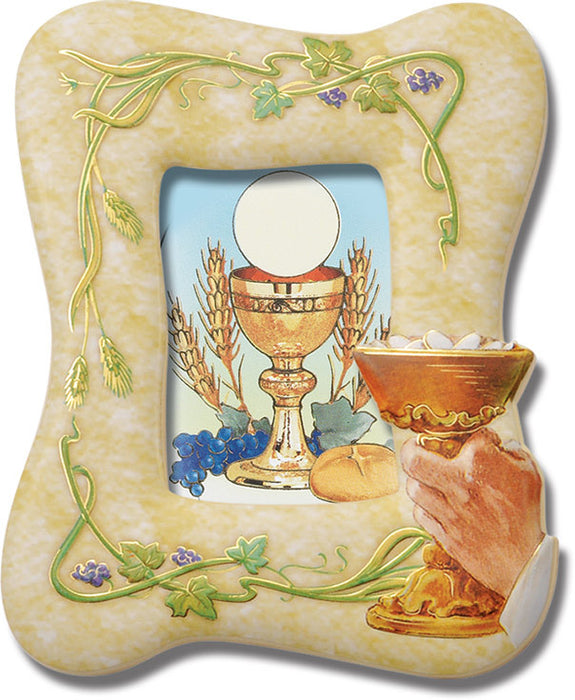 Image of COMMUNION FRAME WITH CHALICE