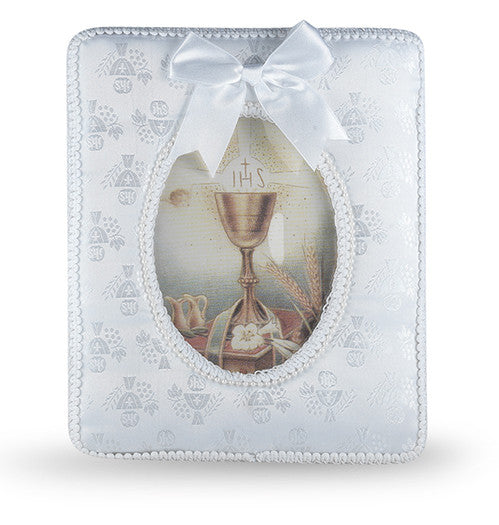 Image of COMMUNION PHOTO FRAME WITH