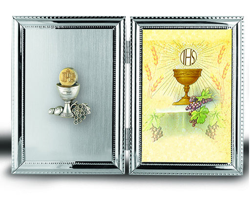 Image of SILVER PLATE COMMUNION CHALISE