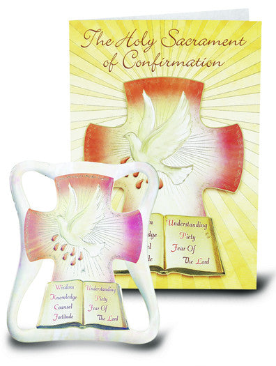 Image of PEARLIZED CONFIRMATION EASEL