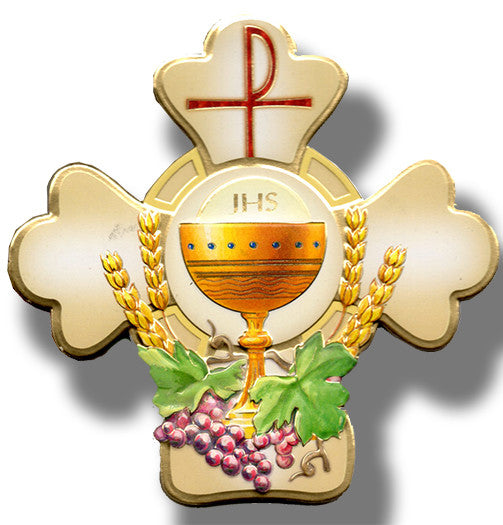 first_communion_cross_plaque_and_certificate