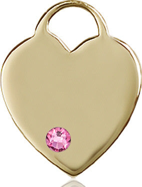 rose_bead_heart_medal_14kt_gold