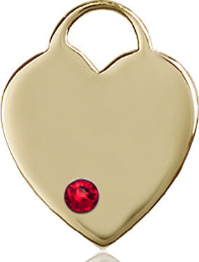 ruby_bead_heart_medal_14kt_gold