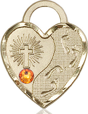 topaz_bead_footprints_heart_medal_14kt_gold