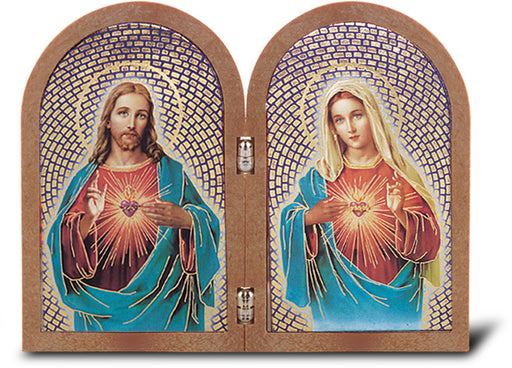 Image of SACRED HEART AND I H OF MARY