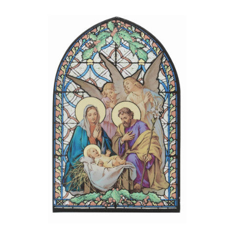 CHRISTMAS NATIVITY WITH ANGELS MOSAIC ARCH