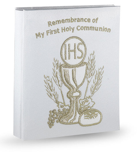 first_communion_lace_photo_album