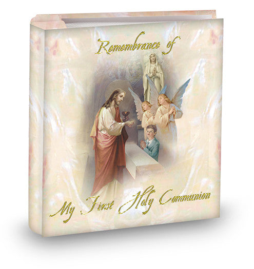 first_communion_boy_album