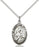 Image of Our Lady of Perpetual Help Pendant (Sterling Silver)