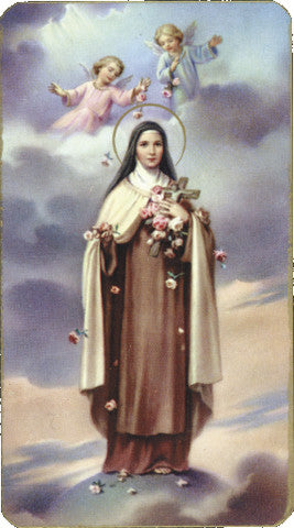 st_therese_holy_card