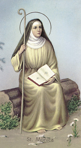 Image of ST MONICA HOLY CARD
