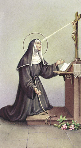 Image of ST RITA HOLY CARD
