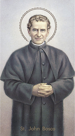 Image of ST JOHN BOSCO HOLY CARD