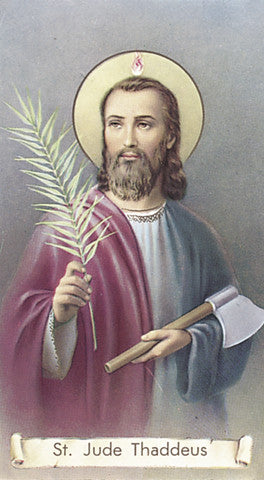 Image of ST JUDE THADDEUS HOLY CARD