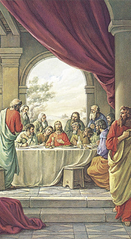 the_last_supper_holy_card