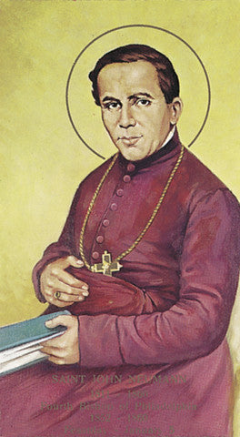 Image of ST JOHN NEUMANN HOLY CARD