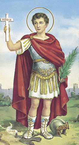 Image of SAN EXPEDITO HOLY CARD