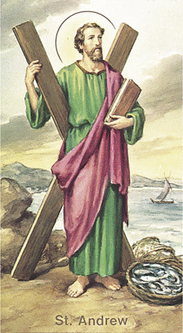 Image of ST ANDREW HOLY CARD