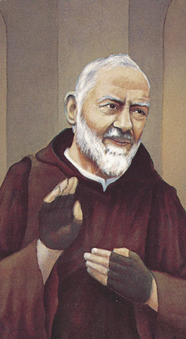 Image of ST PIO HOLY CARD