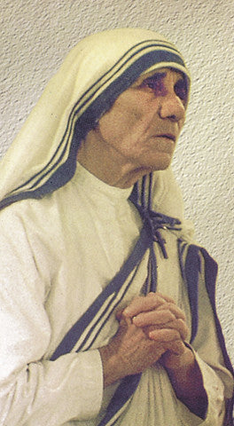Blessed Teresa Of Calcutta Holy Card