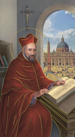 St Robert Bellarmine Holy Card Free Ship 49 Catholic