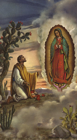 Image of SR JUAN DIEGO W/ OL GUADALUPE