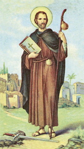 Image of ST. JAMES HOLY CARD