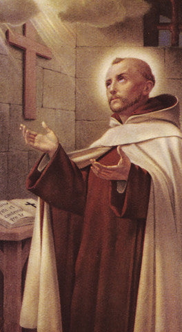 Image of ST JOHN OF THE CROSS HOLY CARD