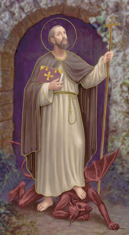Image of ST WILLIAM HOLY CARD