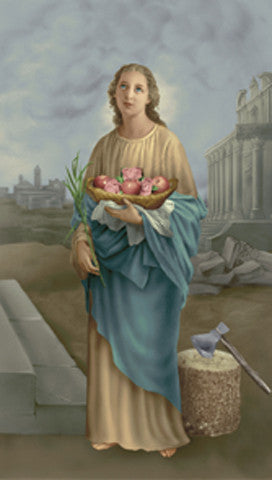 Image of ST.DOROTHY HOLY CARD