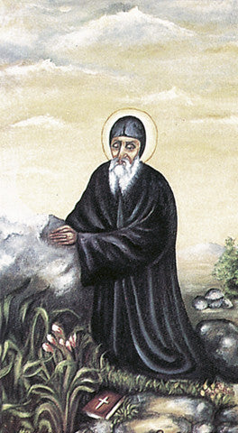 Image of ST CHARBEL HOLY CARD