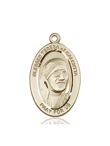 Image of Blessed Teresa of Calcutta Medal (14kt Gold)