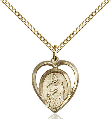 Image of St. Jude Pendant (Gold Filled)