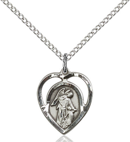 Image of Guardian Angel Pendant (Sterling Silver)