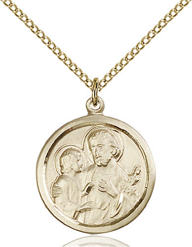 Image of St. Joseph Pendant (Gold Filled)