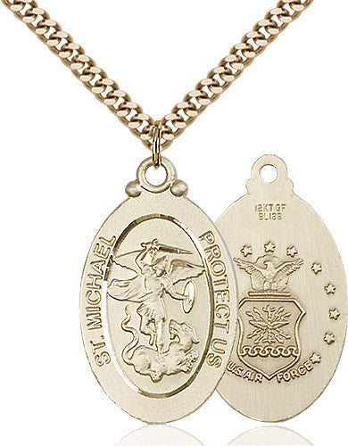 st_michael_air_force_pendant