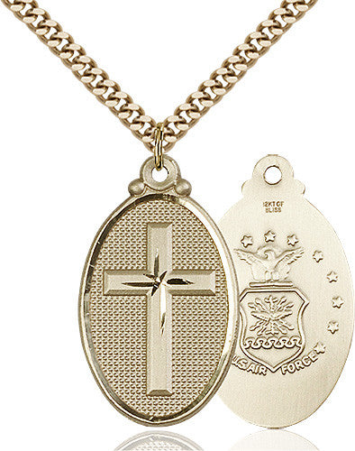 army_cross_pendant_14_karat_gold_filled