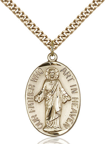 our_father_medal_14kt_gold_filled