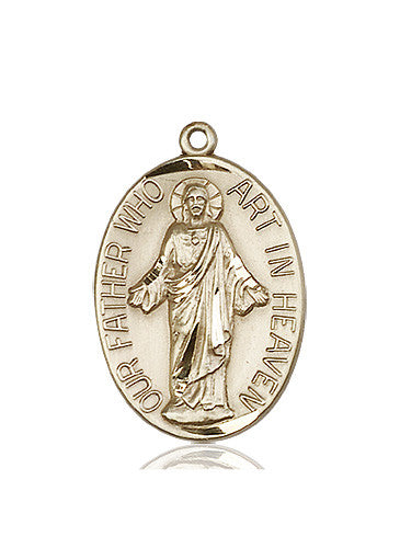 our_father_medal_14kt_gold