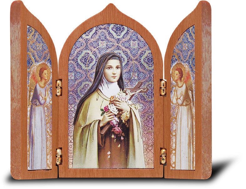Image of ST THERESE TRYPTYCH