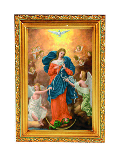 Image of OUR LADY UNTIER OF KNOTS FRAME