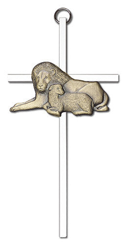 lion_and_lamb_wall_cross