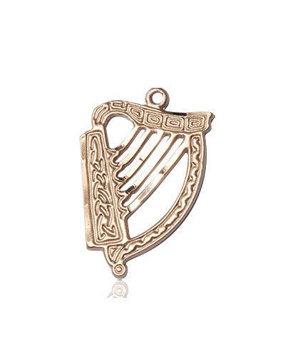 irish_harp_medal_14kt_gold