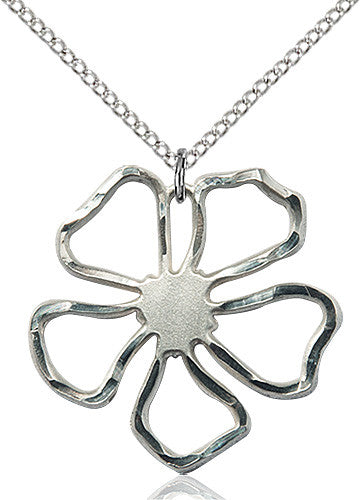 five_pedal_flower_pendant