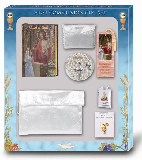 Girl's  Communion Gift Set