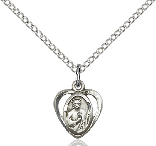 Image of St. Jude Pendant (Sterling Silver)